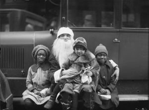 Shriners Santa Claus at Empire Theatre. - December 23, 1925