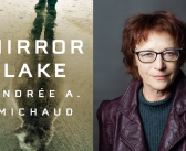 "<a href=""http://notesandqueries.ca/reviews/mirror-lake/"">Andrée A Michaud's Mirror Lake </a><br><a href=""http://notesandqueries.ca/james-grainger/"">by James Grainger</a>"